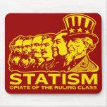Nacrótico del estatismo de la clase dirigente Mous Tapetes De Ratones