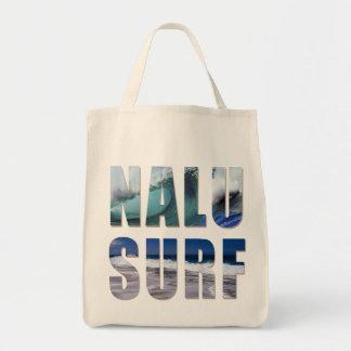 Nacu-Surf Tropical Waves Beach Bag