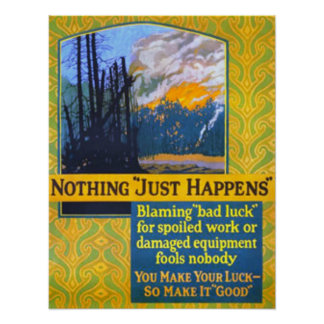 """Nada """"apenas sucede """" poster"""