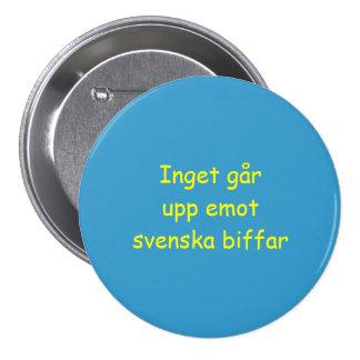 Nada bate la carne de vaca sueca: Botón (LG) Pin Redondo De 3 Pulgadas