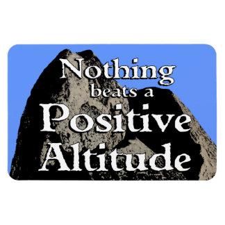 Nada bate una altitud positiva - imán