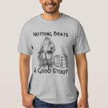 Nada bate una buena cerveza de malta (la camisa) remeras