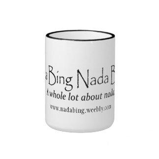 Nada Bing Nada Boom Logo Mug
