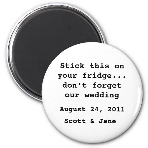 Nada boda de lujo imán de frigorífico