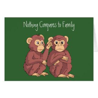 Nada compara a la familia tarjeta pequeña
