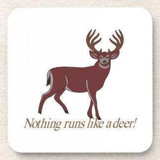 Nada corre como un ciervo posavasos