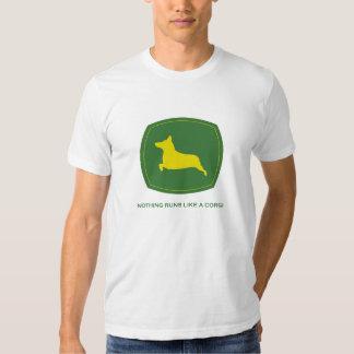 Nada corre como una camiseta de los hombres del remera