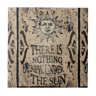 Nada de novo sob o sol azulejos de cerâmica