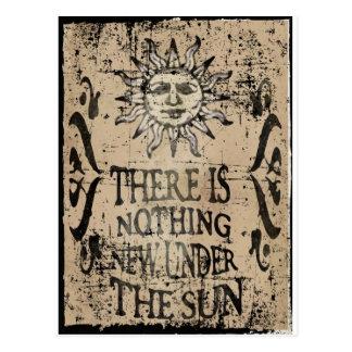 Nada de novo sob o sol cartão postal