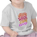 Nada digno de hacer camisetas