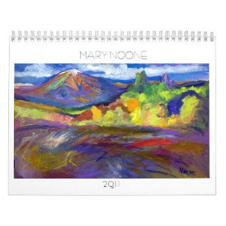 Nada dijo 2011 MARIA NADIE Calendario De Pared