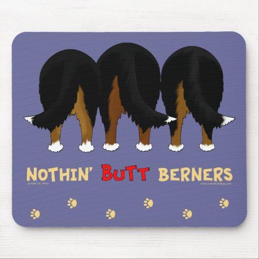 Nada empalma a Berners Alfombrilla De Ratón