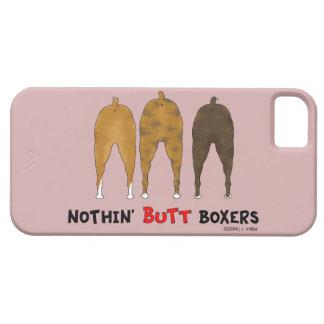 Nada empalma a boxeadores iPhone 5 funda