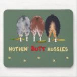 Nada empalma a los australianos Mousepad Alfombrillas De Raton