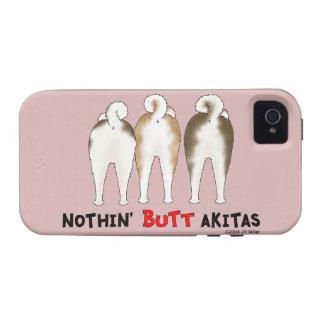 Nada empalma Akitas iPhone 4 Funda