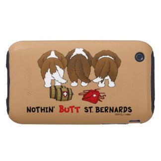 Nada empalma al santo Bernards iPhone 3 Tough Cárcasas