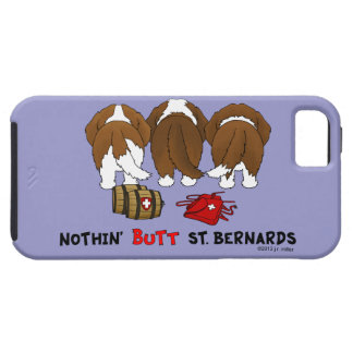 Nada empalma al santo Bernards iPhone 5 Funda