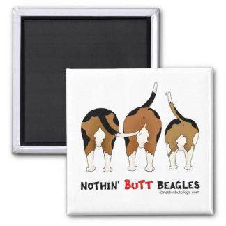 Nada empalma beagles imán para frigorifico