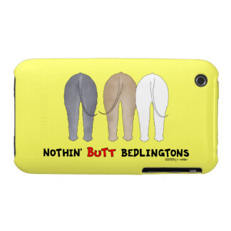 Nada empalma Bedlingtons iPhone 3 Cárcasa