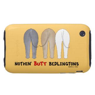 Nada empalma Bedlingtons Tough iPhone 3 Fundas