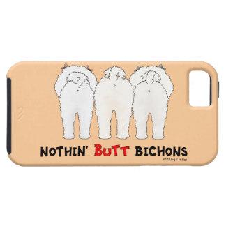 Nada empalma Bichons Funda Para iPhone 5 Tough