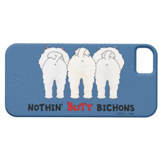 Nada empalma Bichons iPhone 5 Carcasa