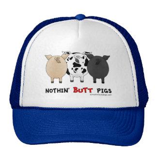 Nada empalma cerdos gorro de camionero