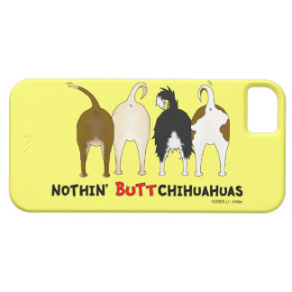 Nada empalma chihuahuas iPhone 5 carcasa