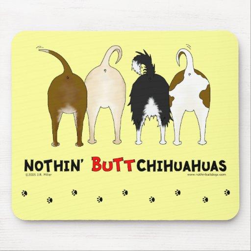 Nada empalma chihuahuas mousepad