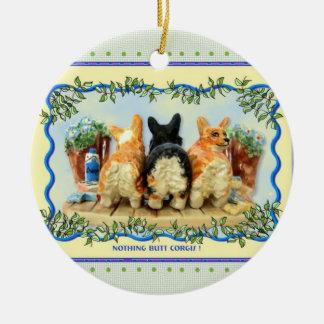 ¡Nada empalma Corgis! Ornamento Adorno Para Reyes