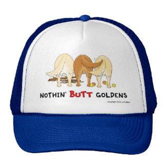Nada empalma el casquillo de Goldens Gorras