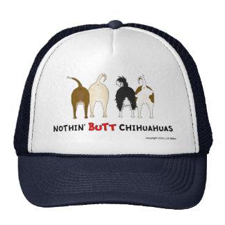 Nada empalma el casquillo de las chihuahuas gorras