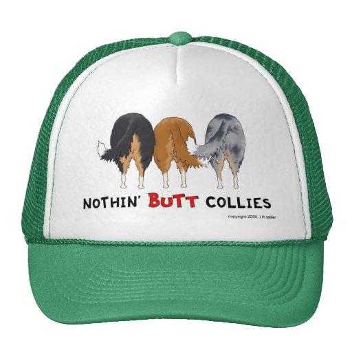 Nada empalma el gorra de los collies