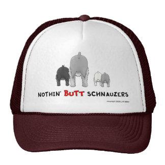 Nada empalma el gorra de los Schnauzers