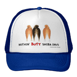 Nada empalma el gorra de Shiba Inus
