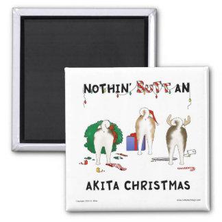 Nada empalma el navidad de un Akita Iman De Frigorífico