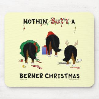 Nada empalma el navidad de un Berner Alfombrillas De Raton