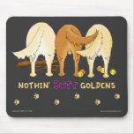 Nada empalma Goldens Mousepad Tapetes De Ratones