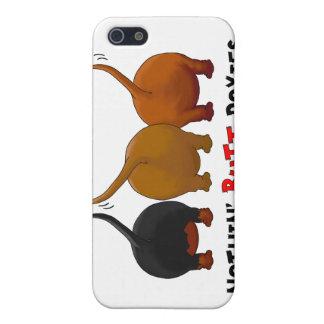Nada empalma la caja del iPhone 4 de los Doxies iPhone 5 Carcasa