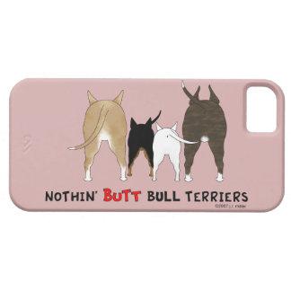 Nada empalma los terrieres de Bull iPhone 5 Fundas