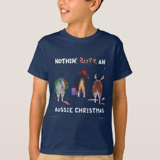 Nada empalma navidad australiano camisas