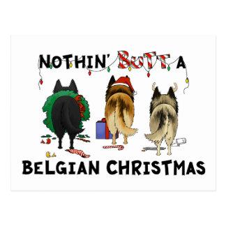 Nada empalma navidad belga postales