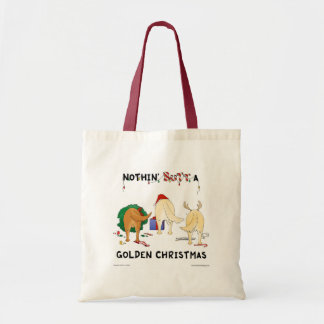 Nada empalma navidad de oro bolsa tela barata