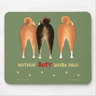 Nada empalma Shiba Inus Mousepad Alfombrillas De Raton
