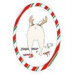 Nada empalma un ornamento del navidad del dogo fra esculturas fotograficas