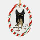 Nada empalma un ornamento del navidad del pastor ornamento para arbol de navidad