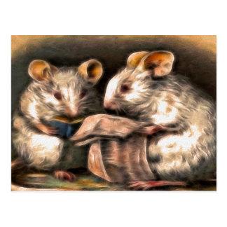 """""""Nada en postal de los ratones de la TV esta"""
