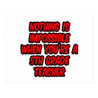 Nada es imposible… 5to profesor del grado postal