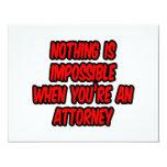 Nada es imposible… abogado invitacion personal