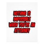 Nada es imposible… abogado plantillas de membrete